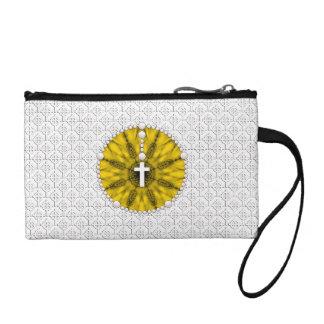 Amarillo ideal del colector del rosario