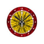 Amarillo ideal del colector del rosario reloj