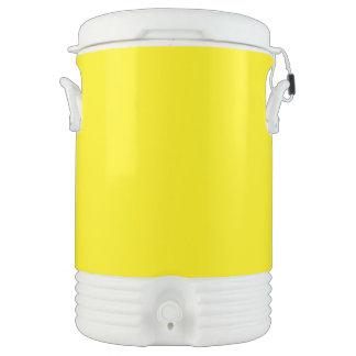 Amarillo Enfriador De Bebida Igloo