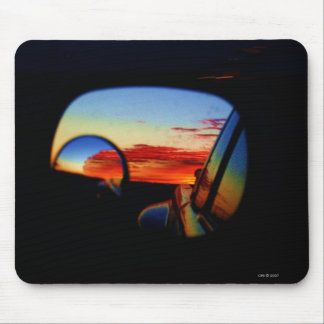 Amarillo in My Rearview Mouse Pad