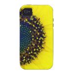 Amarillo iPhone 4/4S Fundas