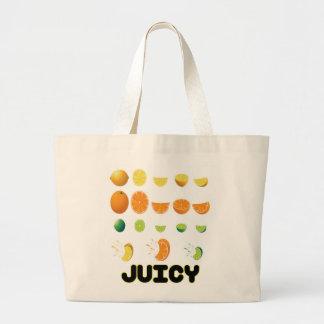 Amarillo jugoso bolsas