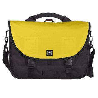 Amarillo limón sólido bolsa de ordenador
