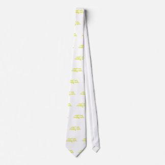 Amarillo mojado de impregnación corbata