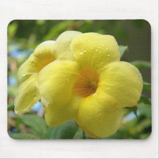 ~ amarillo Mousepad de la flor