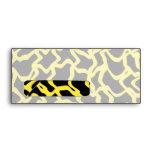 Amarillo negro y brillante del modelo gráfico abst