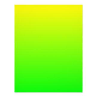 "Amarillo para abonar el aviador con cal folleto 8.5"" x 11"""