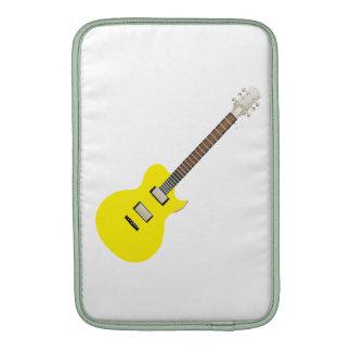 amarillo png de la guitarra eléctrica funda macbook air