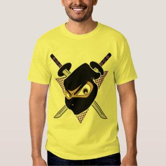 Amarillo poderoso de Ninja Remeras