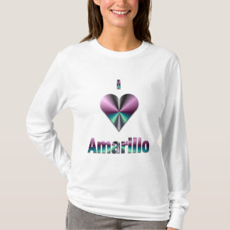 Amarillo -- Purple & Turquoise T-Shirt