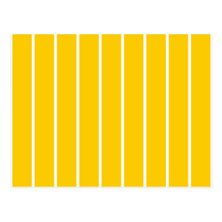 Amarillo + Rayas de encargo del Pin del color Postal