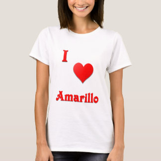 Amarillo -- Red T-Shirt