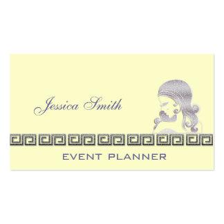 Amarillo reluciente elegante profesional de la tarjetas de visita