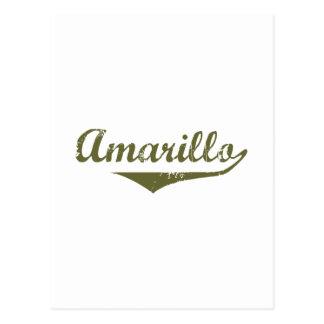 Amarillo Revolution tee shirts Postcard