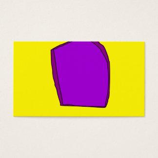 Amarillo simple tarjetas de visita