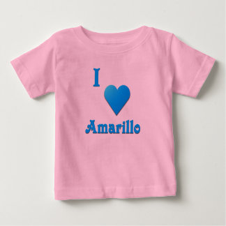 Amarillo -- Sky Blue Baby T-Shirt