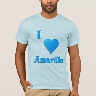 Amarillo -- Sky Blue T-Shirt