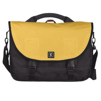 Amarillo solar sólido bolsa para ordenador