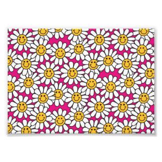 Amarillo sonriente del rosa del modelo de flores d fotografía