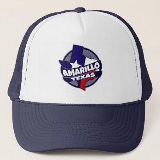 Amarillo Texas flag burst trucker hat