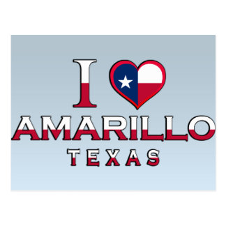 Amarillo, Texas Postcard