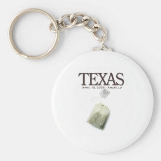 Amarillo Texas Tea Party Keychain