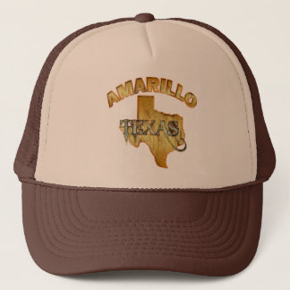 AMARILLO, TEXAS TRUCKER HAT