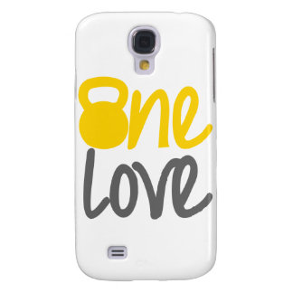 """Amarillo """"un amor"""" Kettlebell Samsung Galaxy S4 Cover"""