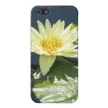 Amarillo waterlily iPhone 5 cárcasa
