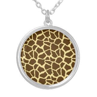 Amarillo y estampado de animales de la jirafa de B Grimpola Personalizada