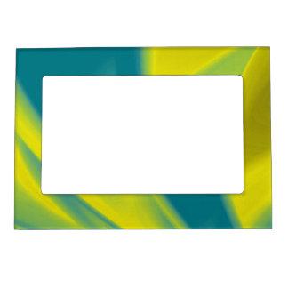 Amarillo y remolino del trullo marcos magneticos de fotos