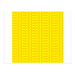 Amarillo Zigzag-Amarillo de V&H y de la mandarina Postal