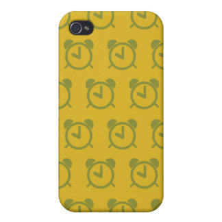 Amarillos del despertador iPhone 4 carcasa
