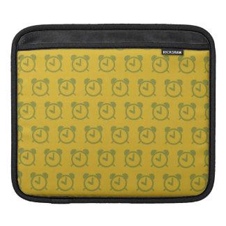 Amarillos del despertador mangas de iPad