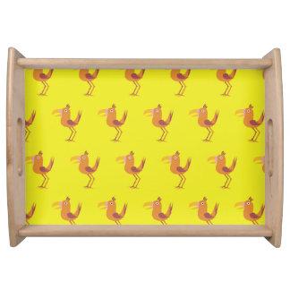 Amarillos del pájaro de Tucan