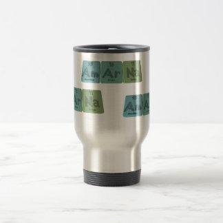 Amarna-Am-Ar-Na-Americium-Argon-Sodium Travel Mug