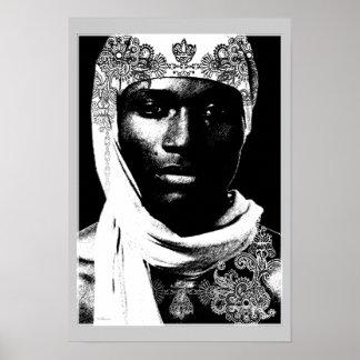 Amarra de la África del Norte Póster
