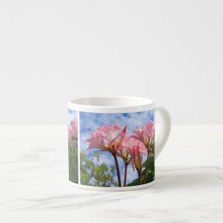 Amaryllis belladonna espresso cup