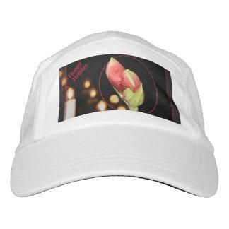 Amaryllis Christmas Headsweats Hat
