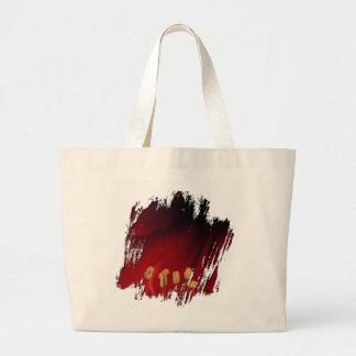 Amaryllis Close-Up Large Tote Bag