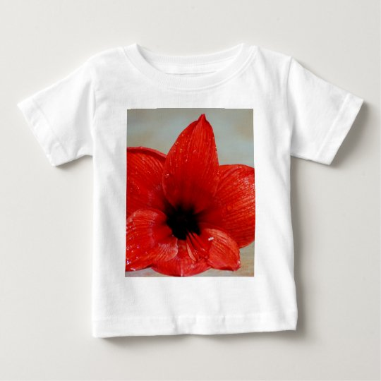 Amaryllis flower and its meaning baby T-Shirt