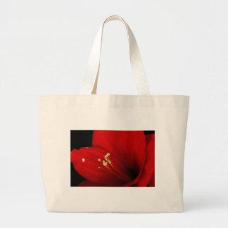 Amaryllis  Flower Close Up  12-27-10 Large Tote Bag
