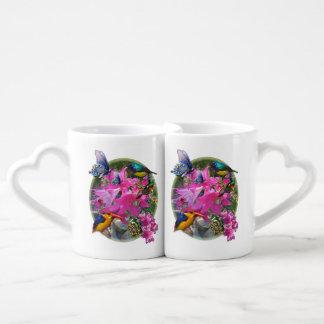 Amaryllis-flower Garden meeting Coffee Mug Set