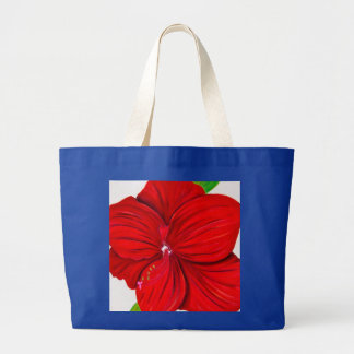 Amaryllis Jumbo Tote Bags