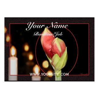 Amaryllis Large Business Card