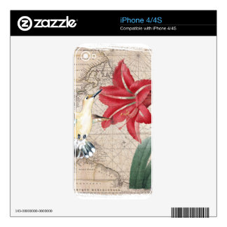 Amaryllis Mao Hummer Decal For The iPhone 4