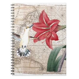 Amaryllis Mao Hummer Notebook