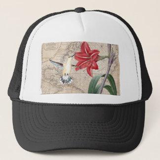 Amaryllis Mao Hummer Trucker Hat