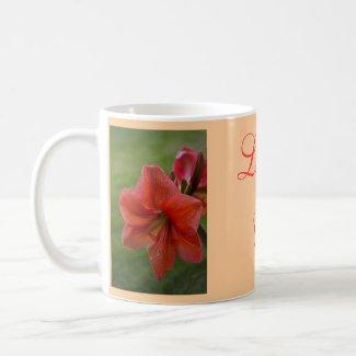 Amaryllis zazzle_mug