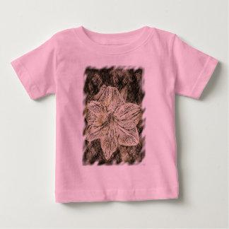 Amaryllis Old Time Sketch Baby T-Shirt